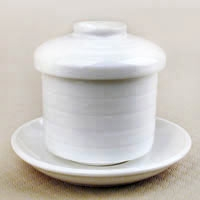 Lidded Cup - White