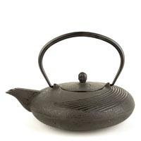 Yuan Japanese Cast Iron Teapot