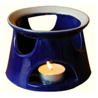Blue Ceramic Tea Warmer