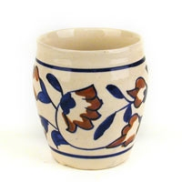 chai cups – lotus flowers blue