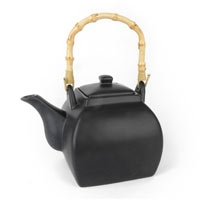 Contemporary Teapot - Black Suraj