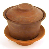 Gaiwan - Red Clay Unglazed