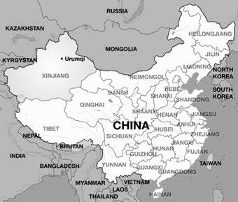 Chinabasemap
