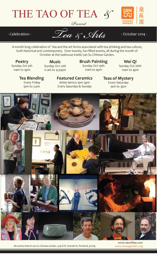 Tea & Arts - October 2014