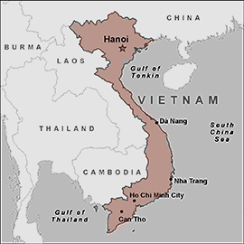 Tea Map - Vietnam - The Tao Of Tea