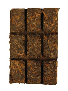 2011 Burma Border Shou Tea Brick