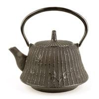 Carillon Bamboo Cast Iron Teapot