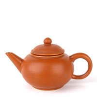 Brown Small Ceramic Teapot