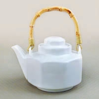Akaash Bamboo Handle Teapot