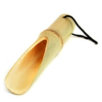 bamboo tea scoop large