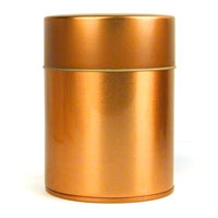 Copper Double Lid Tea Tin
