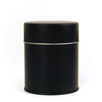 Matte Black Airtight Tea Tin