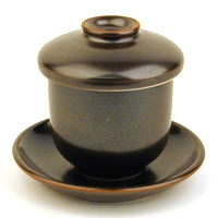 Matte Black Lidded Cup Set