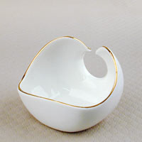 Porcelain Tea Leaf Holder