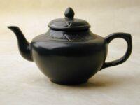 Black Genie Lamp Teapot