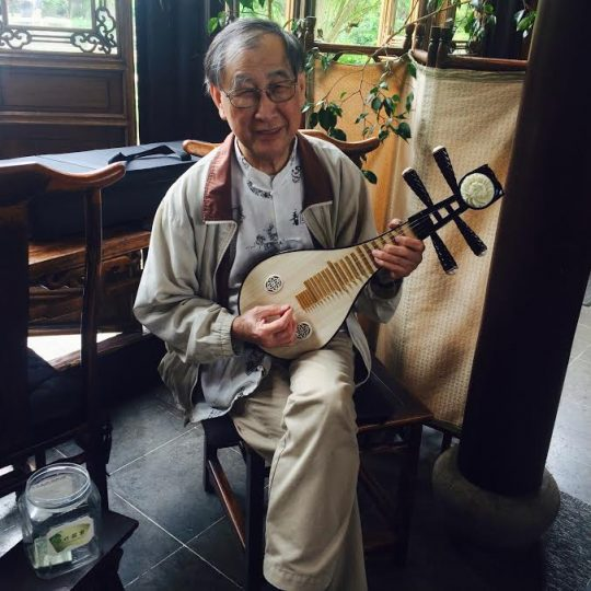 Music and Calligraphy at Teahouse @ Lan Su Chinese Garden | Portland | Oregon | United States