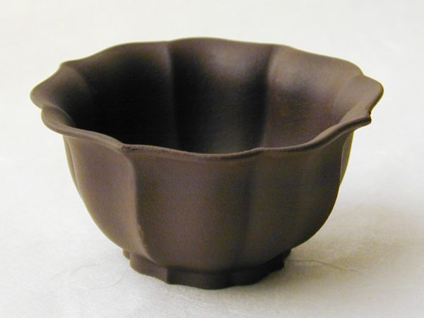 Small Yixing Teacup - Brown Melon