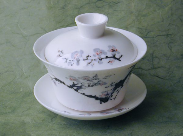 Flowering Branches Gaiwan (Covered Teacup)