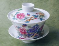 Garden Flowers Gaiwan Tea Set