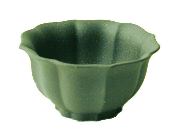 Small Yixing Clay Tea Cup - Green Melon