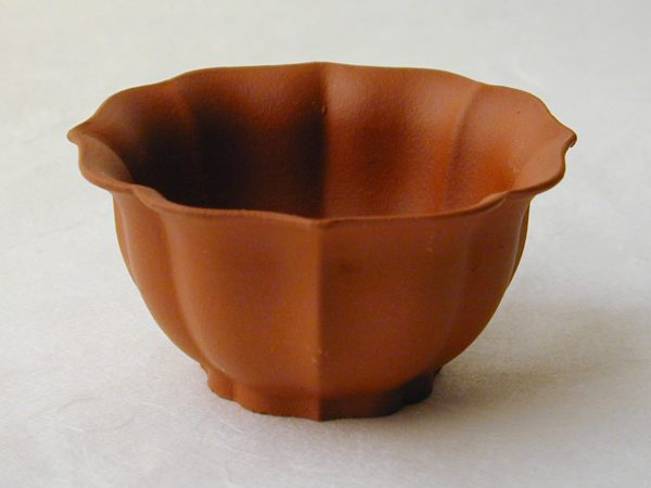 Small Yixing Clay Teacup - Red Melon