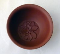 Brown Yixing Flower Cup