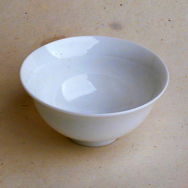 Curve - Small White Teacup