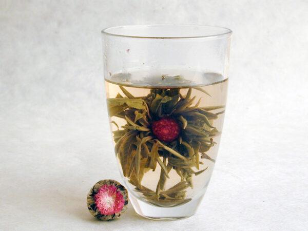 Globe Amaranth Blooming Tea